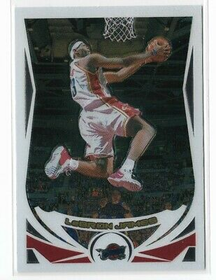 2004-2005 Topps Chrome Lebron James 2nd Year Card - Cavaliers Lakers 23