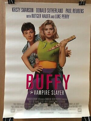 Buffy The Vampire Slayer Promotional Movie Video Poster 18x24 1992