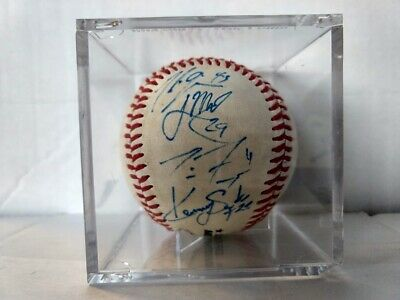 2012 Kane County Cougars Team Signed Baseball Kansas City Royals Autographed