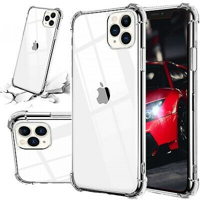 For iPhone 7 8 Plus X XS MAX XR 11 Pro Case Shockproof Silicone Bumper Cover