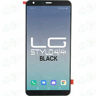 LG Stylo 4  Stylo 4 Plus  Black LCD Display Touch Screen Digitizer Replacement