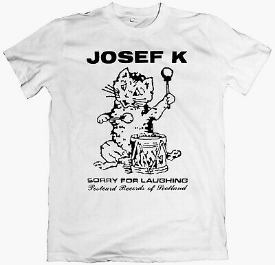 JOSEF K T-shirtLong Sleeve postcard records fire engines swell maps au pairs