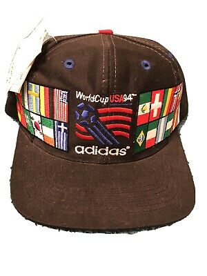 Vintage NEW Adidas 1994 World Cup USA Soccer Hat NWT