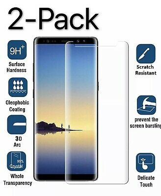 For Samsung Galaxy S9 Plus  S8 Plus Note 8 9 Screen Protector Tempered Glass
