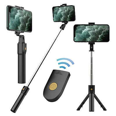 Adjustable Selfie Stick Wireless Remote Tripod Stand Portable Cell Phone Holder