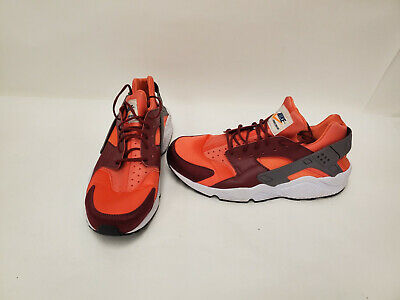 Nike Mens Air Huarache 318429-054 Mens Red Running Shoes Sz12 P6L51438A