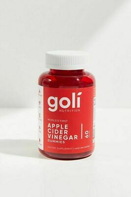Goli Apple Cider Vinegar Gummies - 60 Gummies