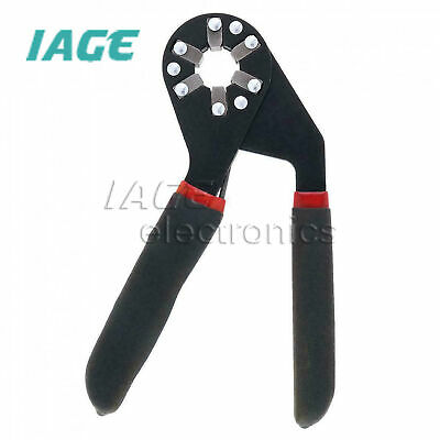 Adjustable Magic Hexagon Wrench 6-8 INCH Grip Pliers Spanner Tool Multifunction