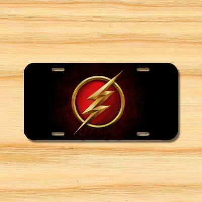 The Flash Vehicle Aluminum License Plate 6x12  Free Shipping New