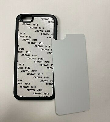 5 Blank sublimation iphone 66S  Cases TPU Rubber Free Shipping