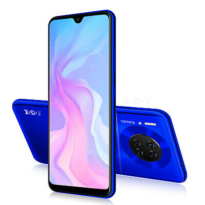 32G Dual SIM Handy 6,3 Zoll Android 9.0 Smartphone Ohne Vertrag LTE 4G Quad Core