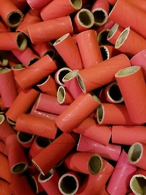 100 Fireworks Tube Kit Firecrackers - 200 End PlugsCaps