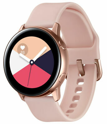 Samsung SM-R500NZDAXAR Galaxy Watch Active 40mm Bluetooth Rose Gold Small Band