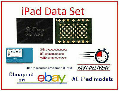 New Serial Number BT - Wi-Fi Address for all iPad 100 Fix Activation issue