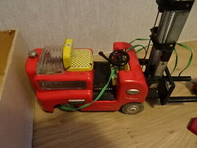 Vintage Toy Forklift Trade Mark Modern Toys S1002 very rare SALE