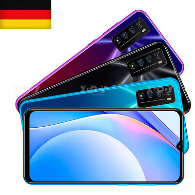 2021 Neu 7,2 Zoll Note 10 Android Smartphone Dual SIM 4G Handy Ohne Vertrag LTE