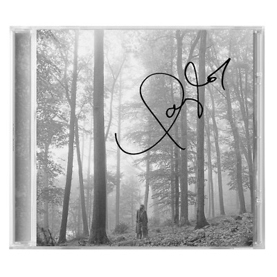Taylor Swift in the trees Folklore Album Deluxe Signed CD Limited Edition