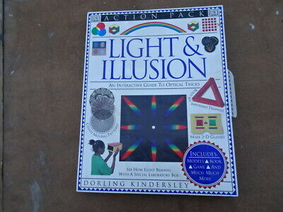 lights and illusion optical tricks  made by DK vintage childrens toy