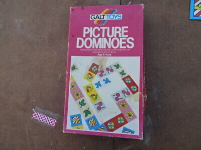 Galt toys picture dominoes  vintage childrens toy