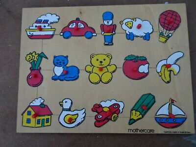 Mother care  jigsaw vintage childrens toy retro