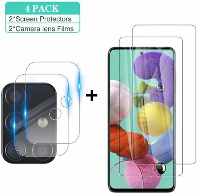 Tempered Glass Screen Protector-Camera Lens For Samsung Galaxy A51 A71 5G A21S