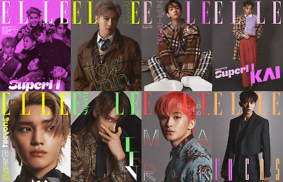 SuperM ELLE Korea October 2020 magazine pre-order CHOOSE COVER