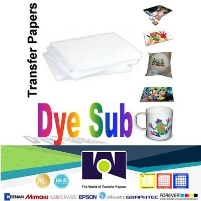 SUBLIPAPER Dye Sublimation Paper 8-5x11 100 Sheets Made In USA Free Delivery