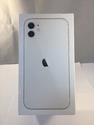 Genuine Apple iPhone 11 White 64GB Empty Retail Phone Box Only