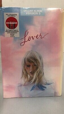 TAYLOR SWIFT - Lover Deluxe Album Version 3 CD Target Exclusive Free Shipping