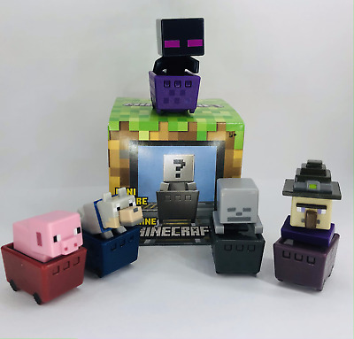 Minecraft Series 7 Minecart Minifigures Rolling Blind Box