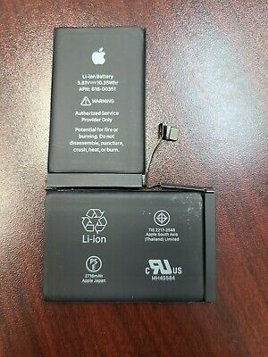 Original OEM Authentic Apple iPhone X Battery Replacement 2716mAh Official