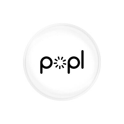 Popl White  Instantly Share Anything  Popl Direct  NFC Tag