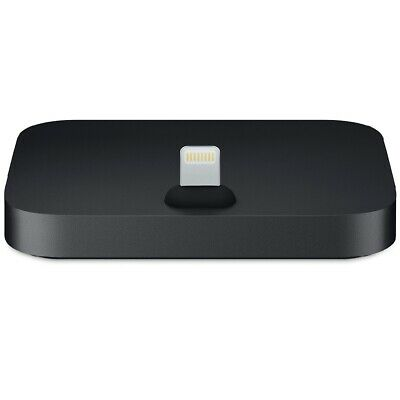 Apple iPhone Lightning Dock for iPhone 7 8 X XR X Max - Black