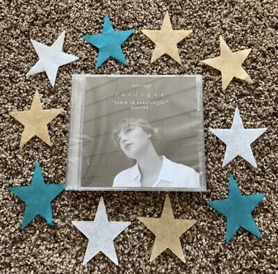 NEW SEALED Taylor Swift Cardigan Cabin in Candlelight CD Folklore LimitedEdition