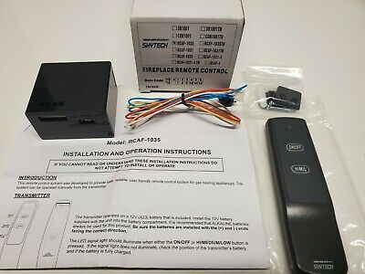 Skytech RCAF-1035 OnOff Fireplace Remote Control HML Receiver