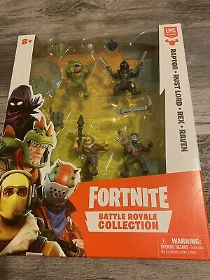 New Moose Fortnite Battle Royale Collection Squad Pack of 4