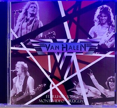 Van Halen Live CD Montevideo Uruguay February 5 1983 Soundboard Recording