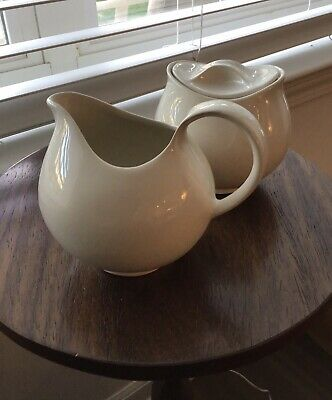 EVA ZEISEL Ivory Creamer - Sugar Bowl With Lid  New Never Used
