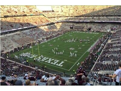 2 TICKETS TEXAS A-M vs OLE MISS 1121 - SEC 316 CHAIRBACK SEATING-SHADE