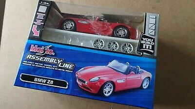 Maisto assembly line BMW Z8 red 1 18 Model boxed-