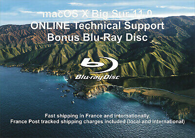 macOS XI 11.0 Big Sur - ONLINE Technical Support - Bonus Blu-ray