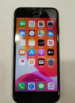 Apple iPhone 8 64GB Space Gray T-Mobile Smartphone Cracked Screen