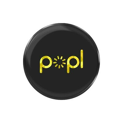 Popl Black - Gold  Instantly Share Anything  Popl Direct  NFC Tag