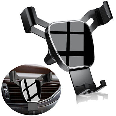 Gravity Car Air Vent Mount Cradle Holder Stand for iPhone 12 Mobile Phone GPS