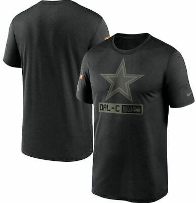Dallas Cowboys STS 2020 Nike NFL Salute To Service Dri-Fit T-shirt Adult NWT