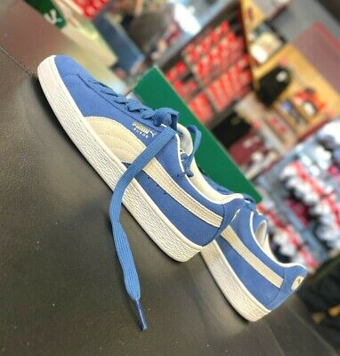 Puma Suede Classic Olympian Blue-White Mens Sneakers 352634-64 US8-514 NEW