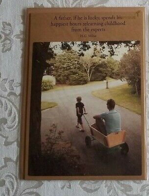 PAPYRUS FATHERS DAY Card DAD IN WAGON - To an Amazing Wonderful Dad