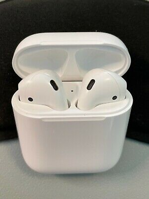 Apple AirPods 1st gen with Charging Case White In Ear Canal Headset MMEF2AMA