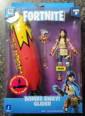 SHIPS FAST Fortnite Motorized Bombs Away Glider w Jules Figure New 2021 Solo 4