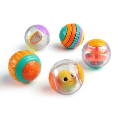Bright Starts Shake - Spin Activity Balls Toy Ages 6 months -